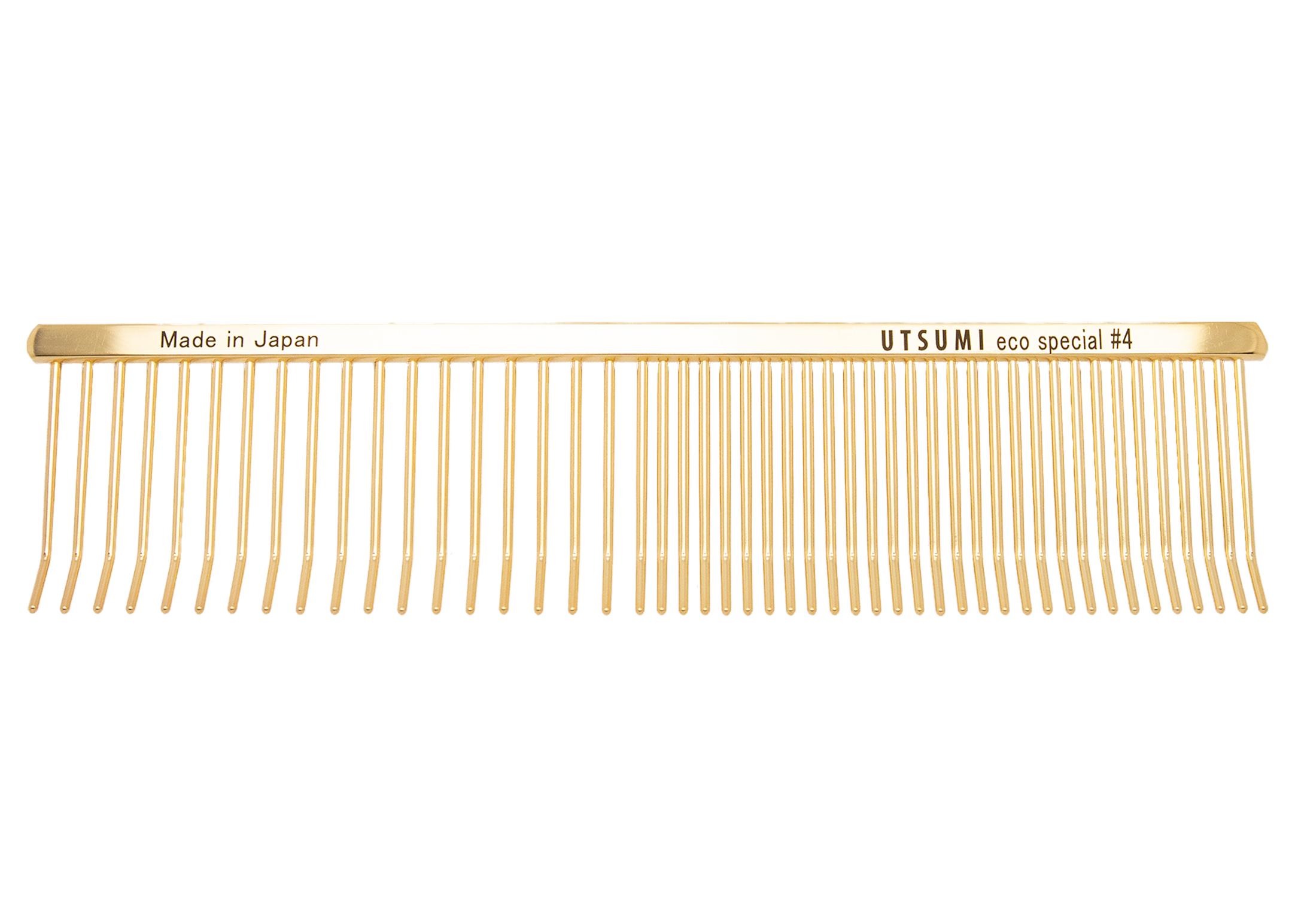 Utsumi Eco Special #4 Gold Comb 19cm