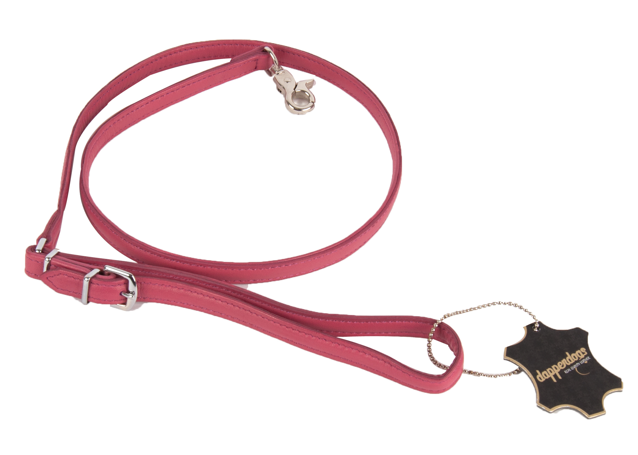 Dapper Dogs Leiband Roze 1,3 x 100cm Leiband