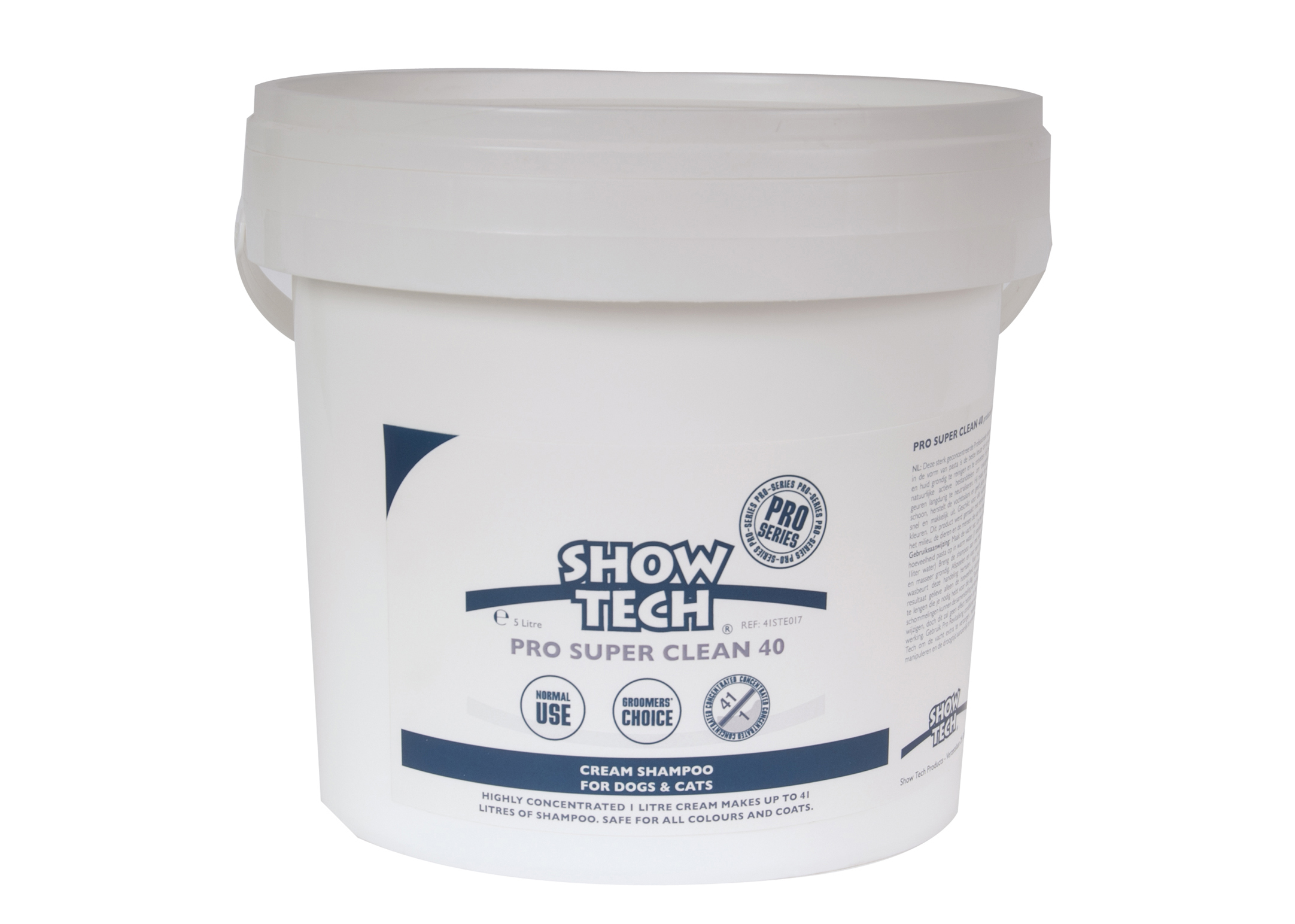 Show Tech Pro Super Clean 40 Shampoo For Dogs, Cats And Horses
