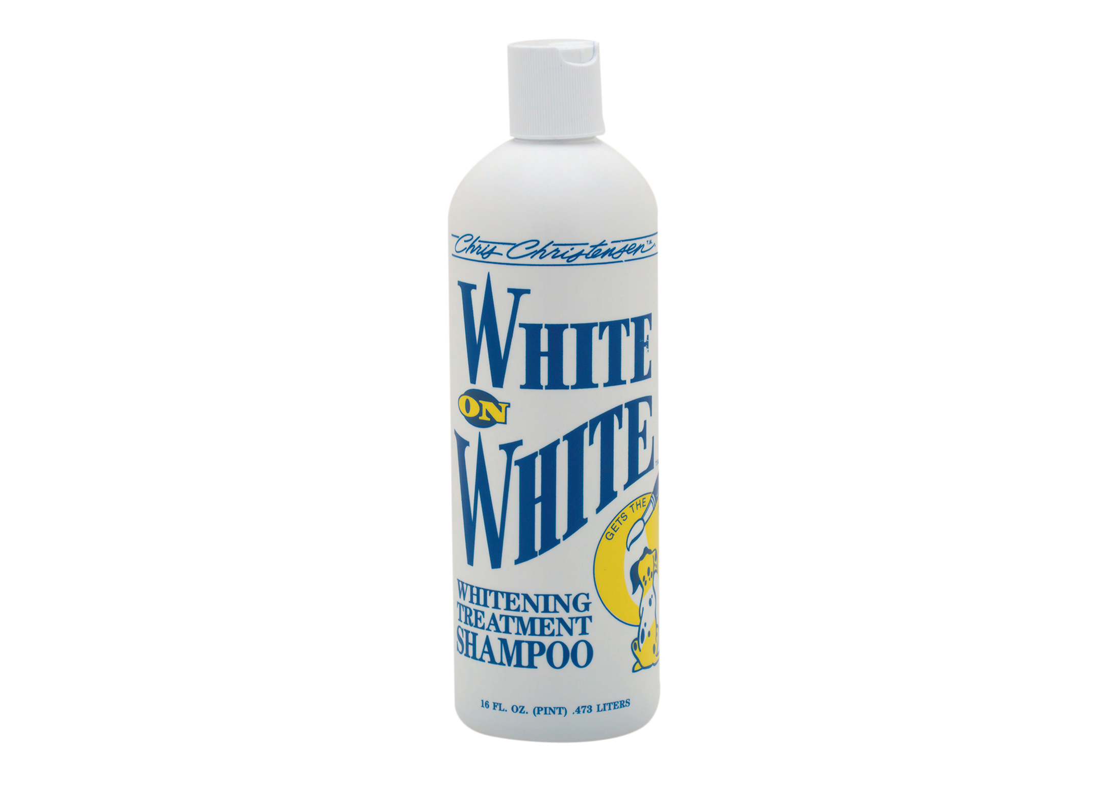 Chris Christensen Systems White on White Shampoo For Dogs, Cats And Horses