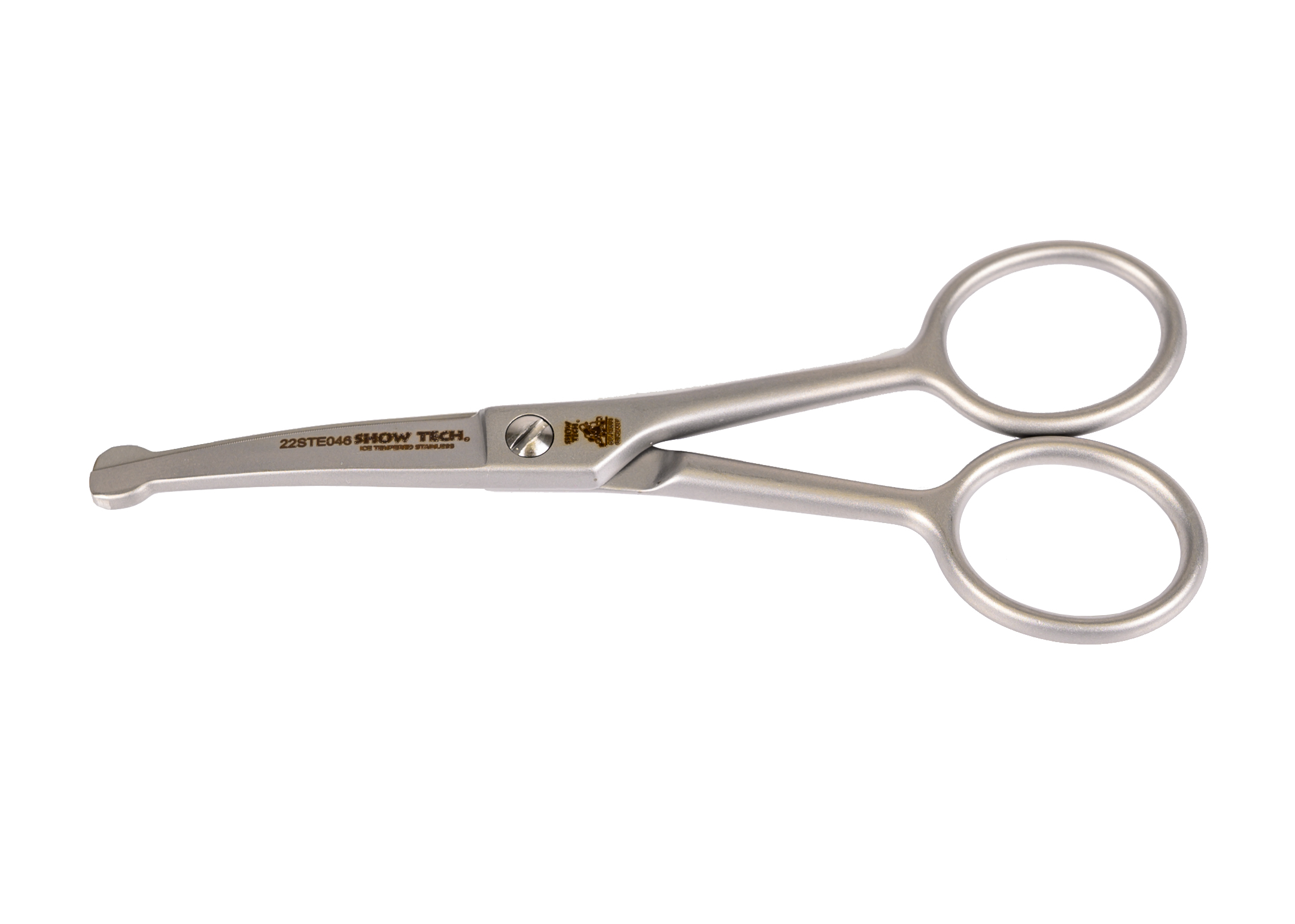 """Show Tech 11,70cm - 4 1/2"""" Curved Scissor with Safety Tip-"""