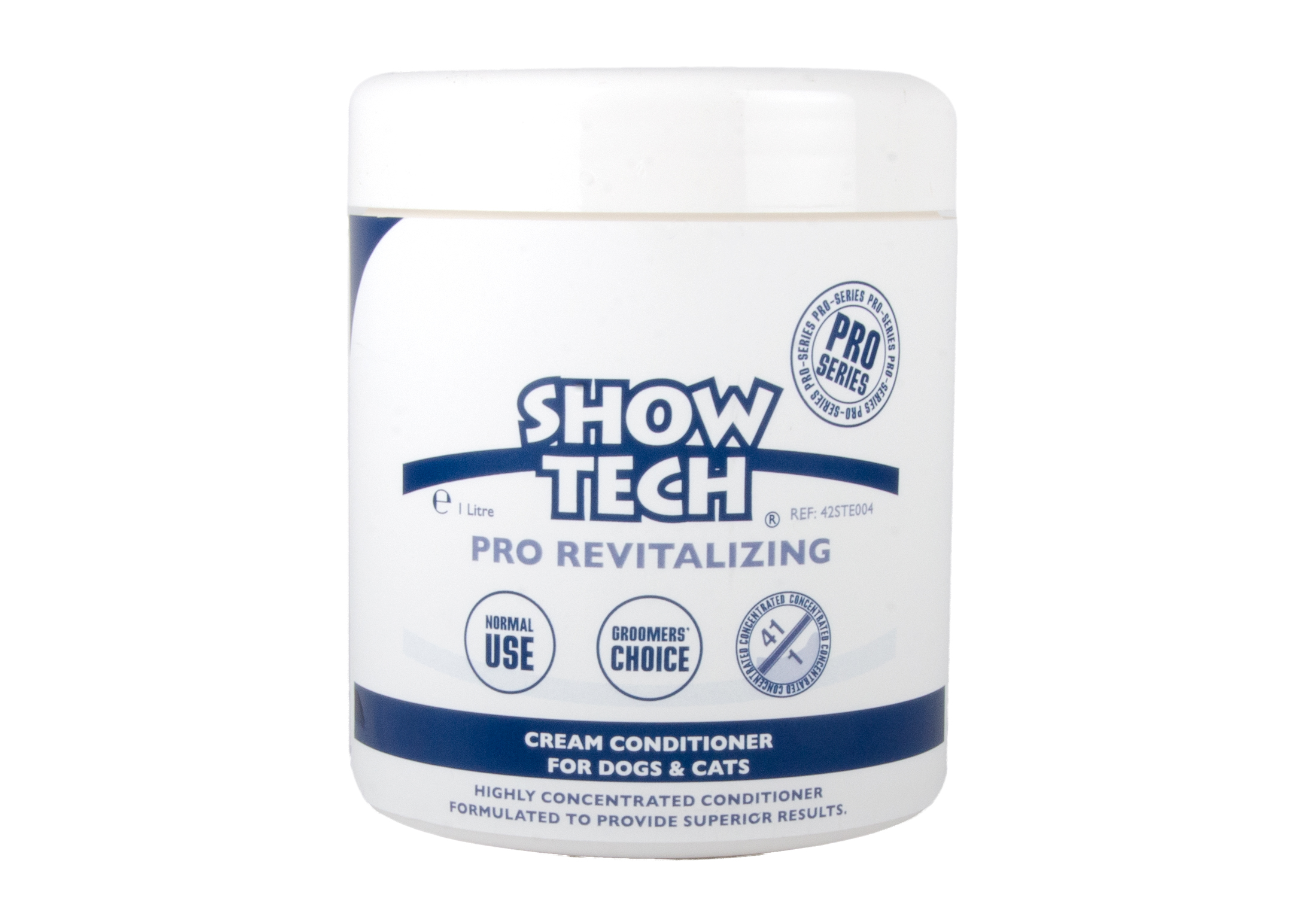 Show Tech Pro Revitalizing Conditioner For Dogs, Cats And Horses