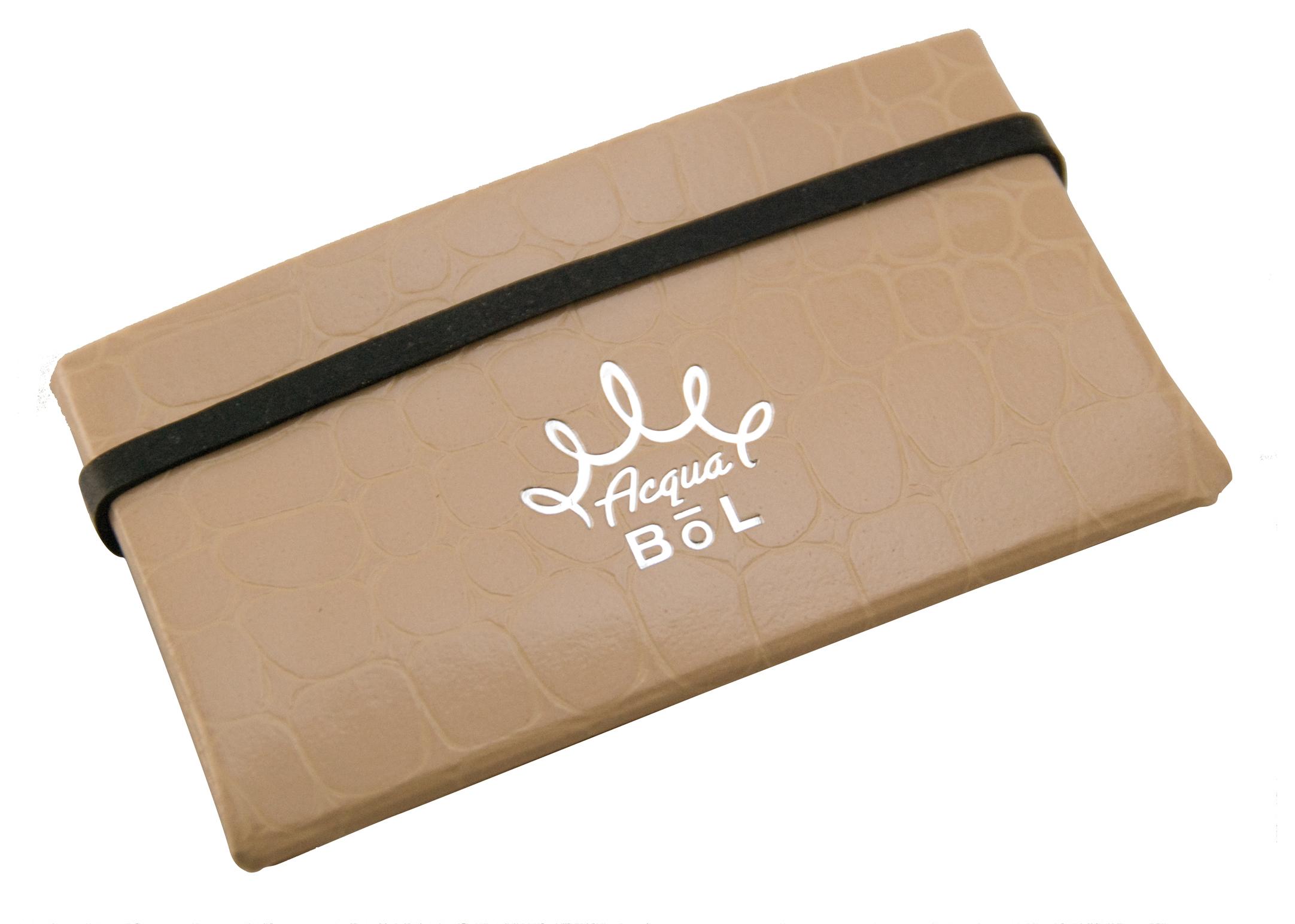 Wowbow Acqua Bol Croco-Tan Travel Accessories