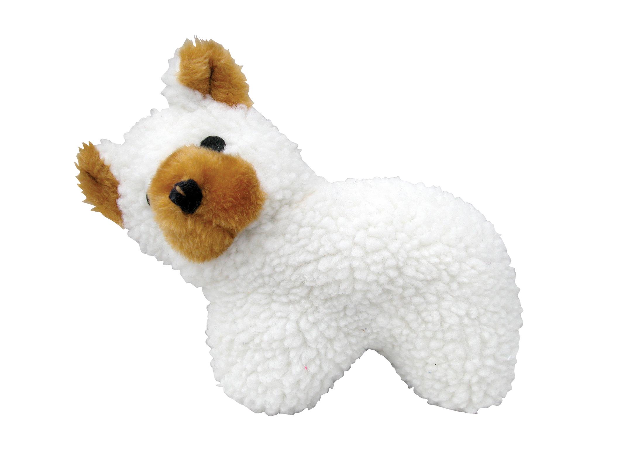 Chuckle City Lambfleece Hond 27cm Speelgoed