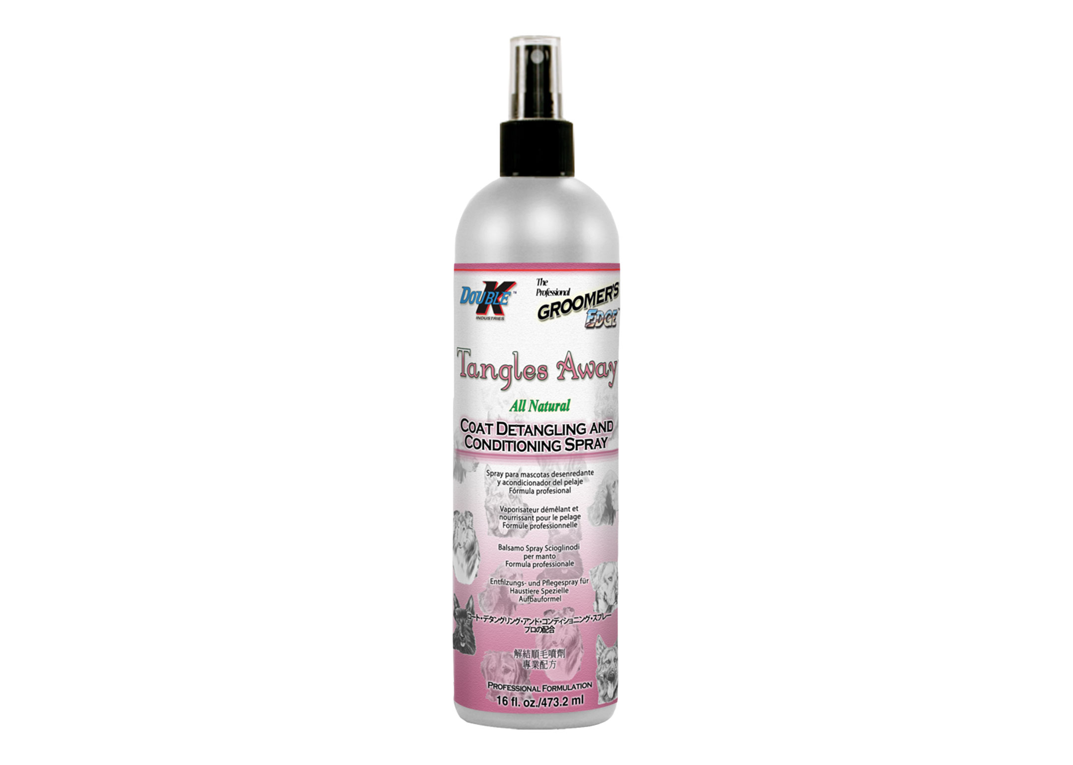 Double K Tangles Away Conditioner For Dogs, Cats And Horses