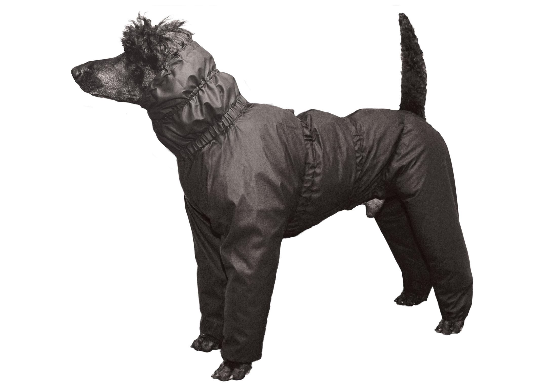 Show Tech Water Resistant Trouser Suit Black