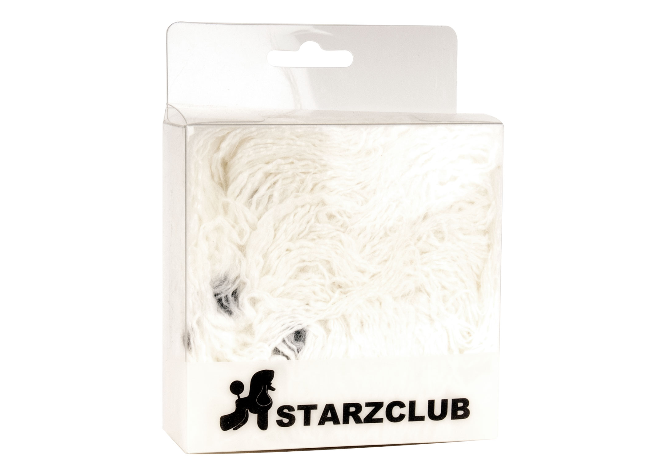 Starzclub Dog Head Hair Piece White for Training, Education and Display