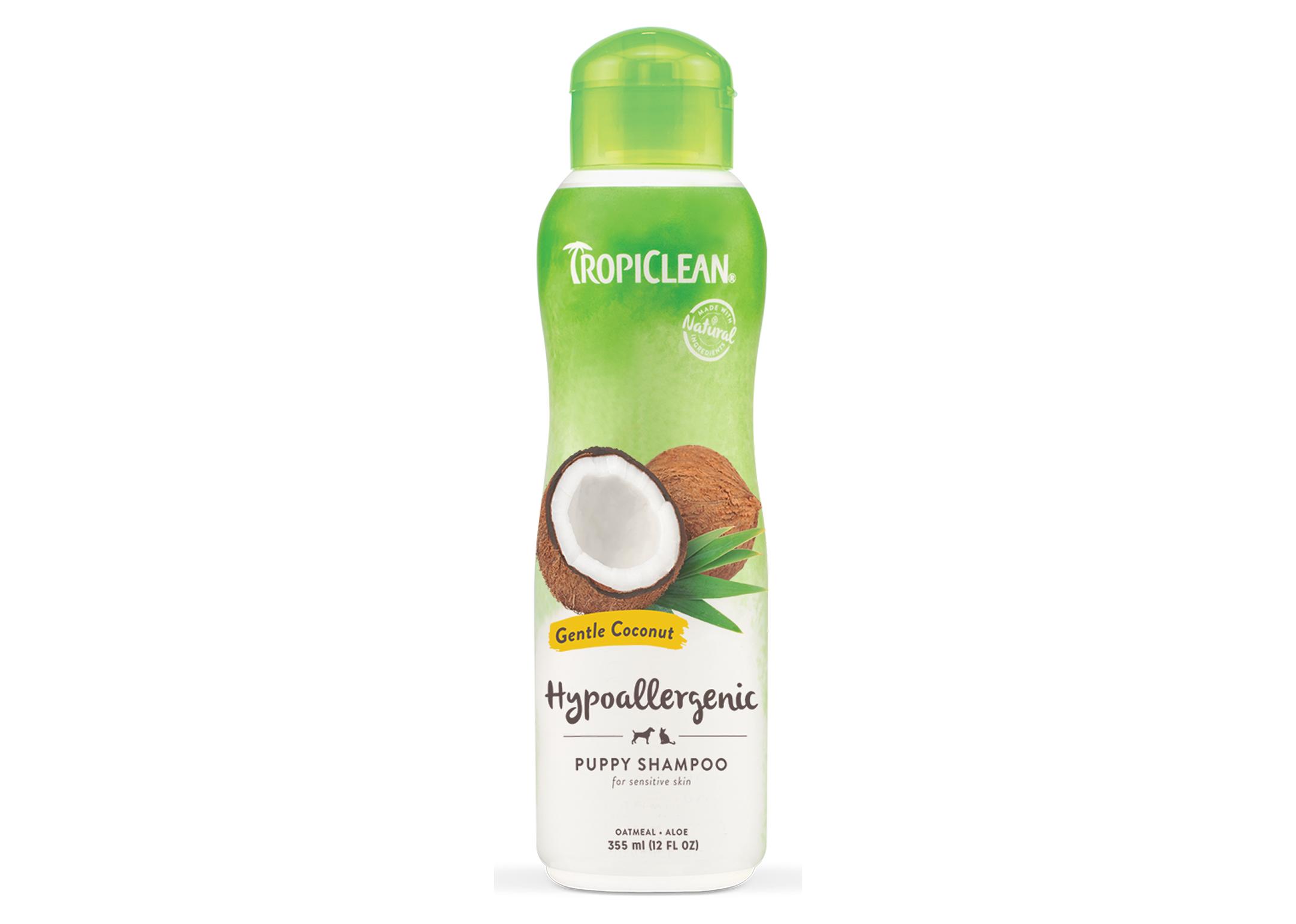 Tropiclean Gentle Coconut Puppy Shampoo - Hypo-Allergenic Shampoo