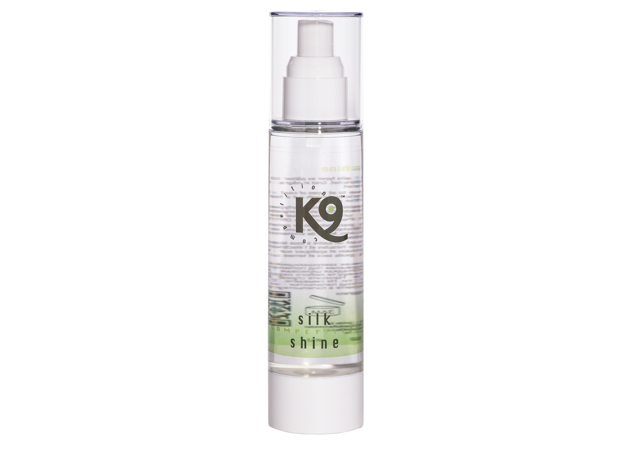 K9 Aloe Vera Silk Shine Spray de toilettage Pour Chiens et Chats