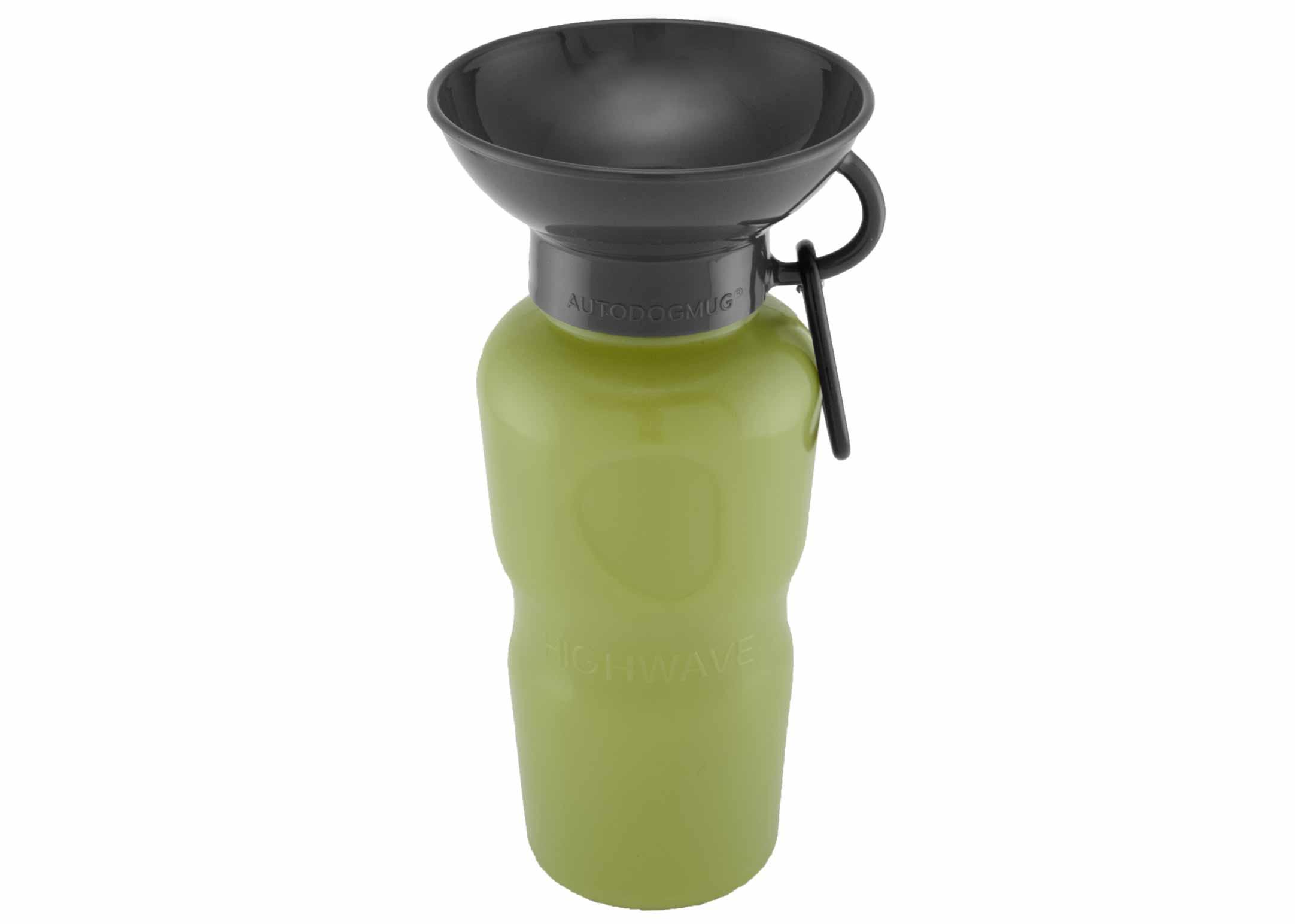 Highwave Auto Dog Mug Leaktight Green Kelp 650ml Drinking Bottle