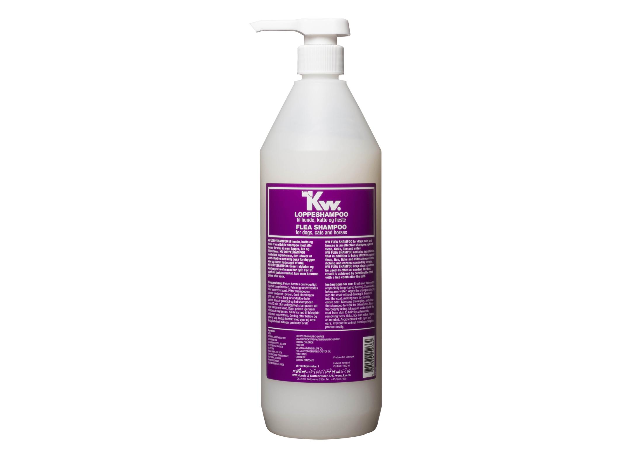 KW Flea Shampoo 1L