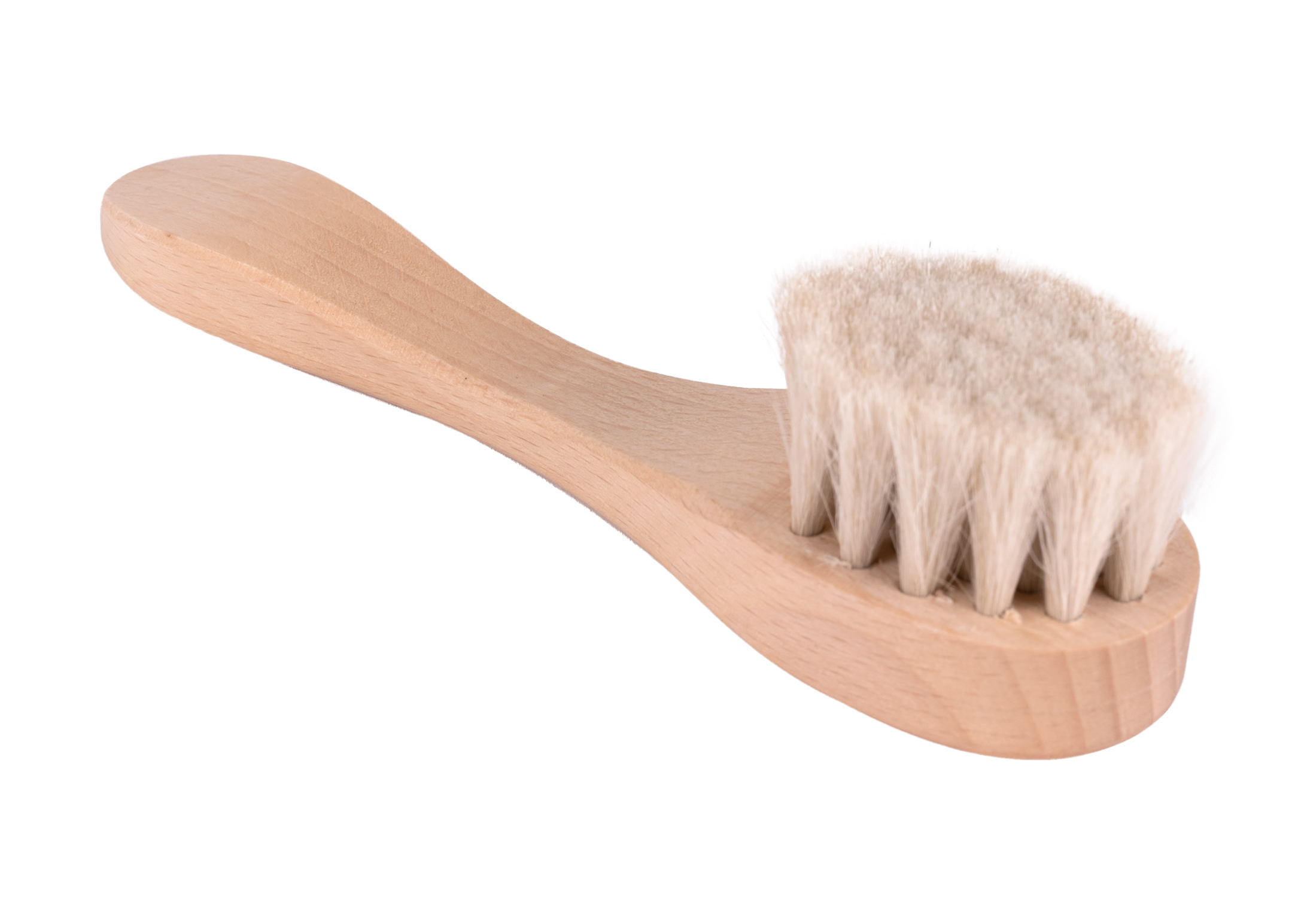 Fraser Essentials Pure Goat Hair Brush Natural Wood