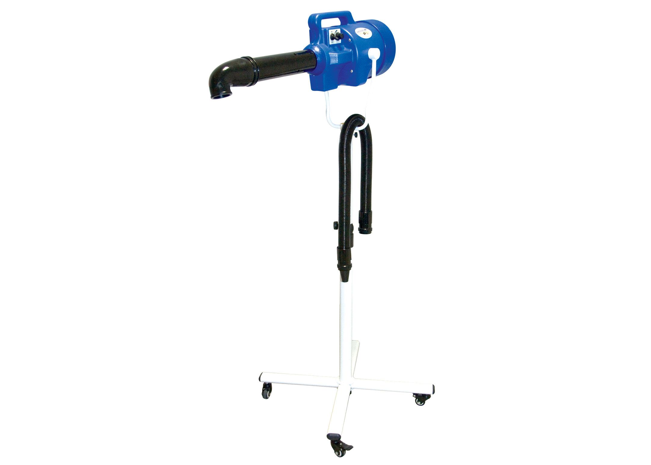 Groom-X Combi Stand Dryer Blue Hair Dryer