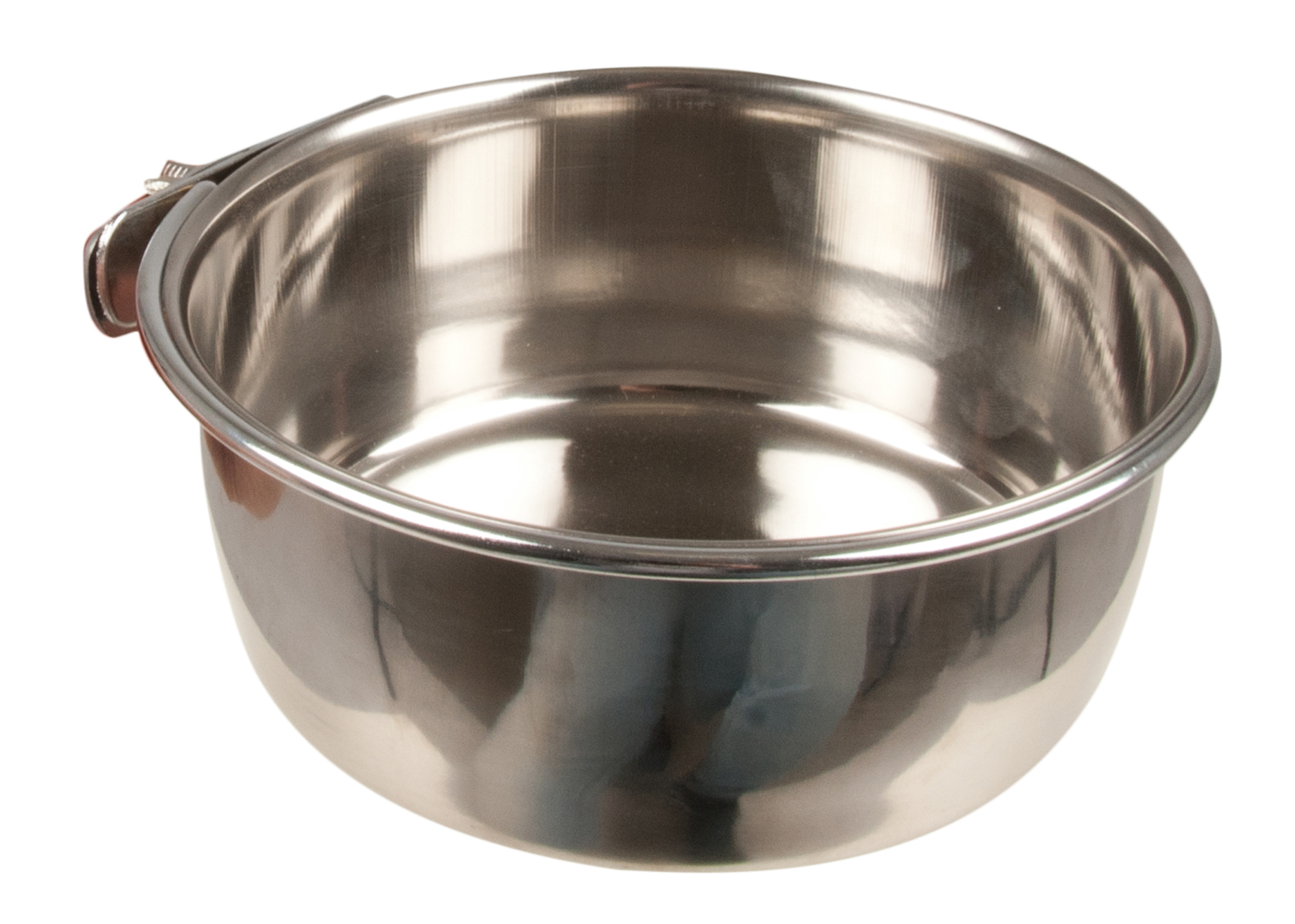 Show Tech Coop Cup Bolt-On Stainless Steel Feeding Bowl For Dogs