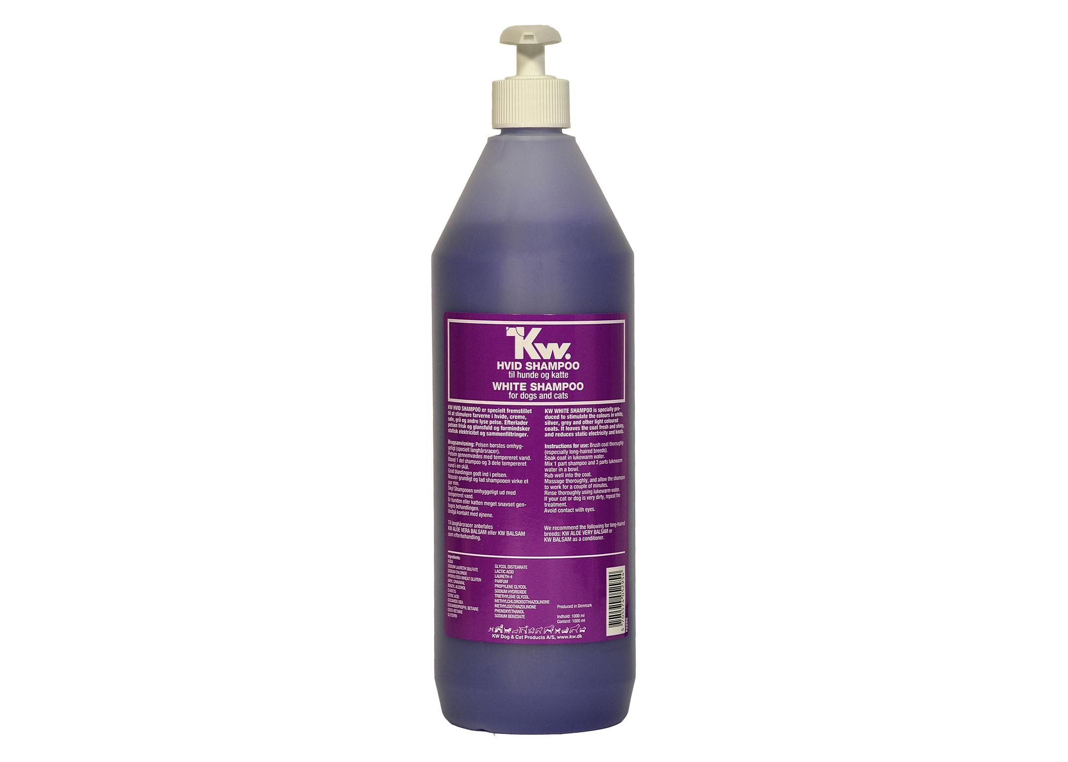 KW White Shampoo 1L