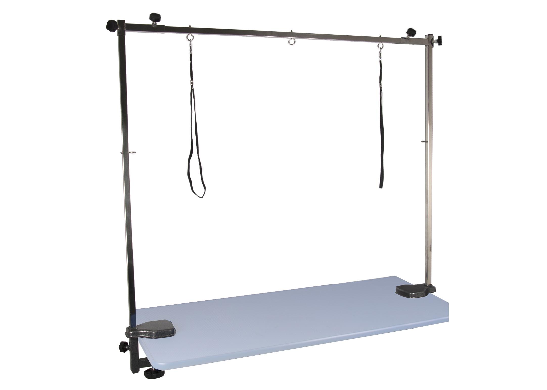SS Adjustable Control Frame 120cmx100H Grooming Frame