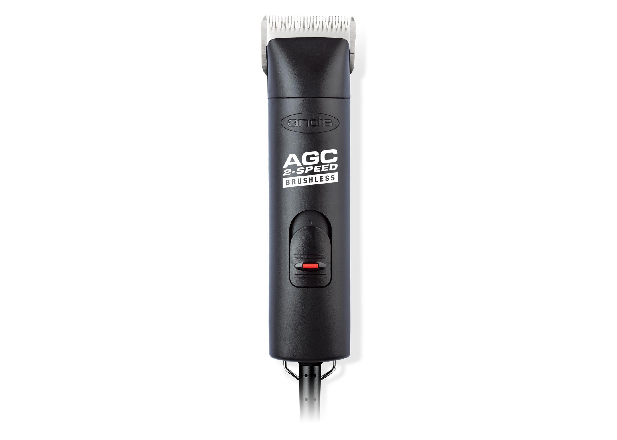 Andis 2 Speed AGCB Tondeuse Noir avec #10 Tête de Coupe Tondeuse de Toilettage
