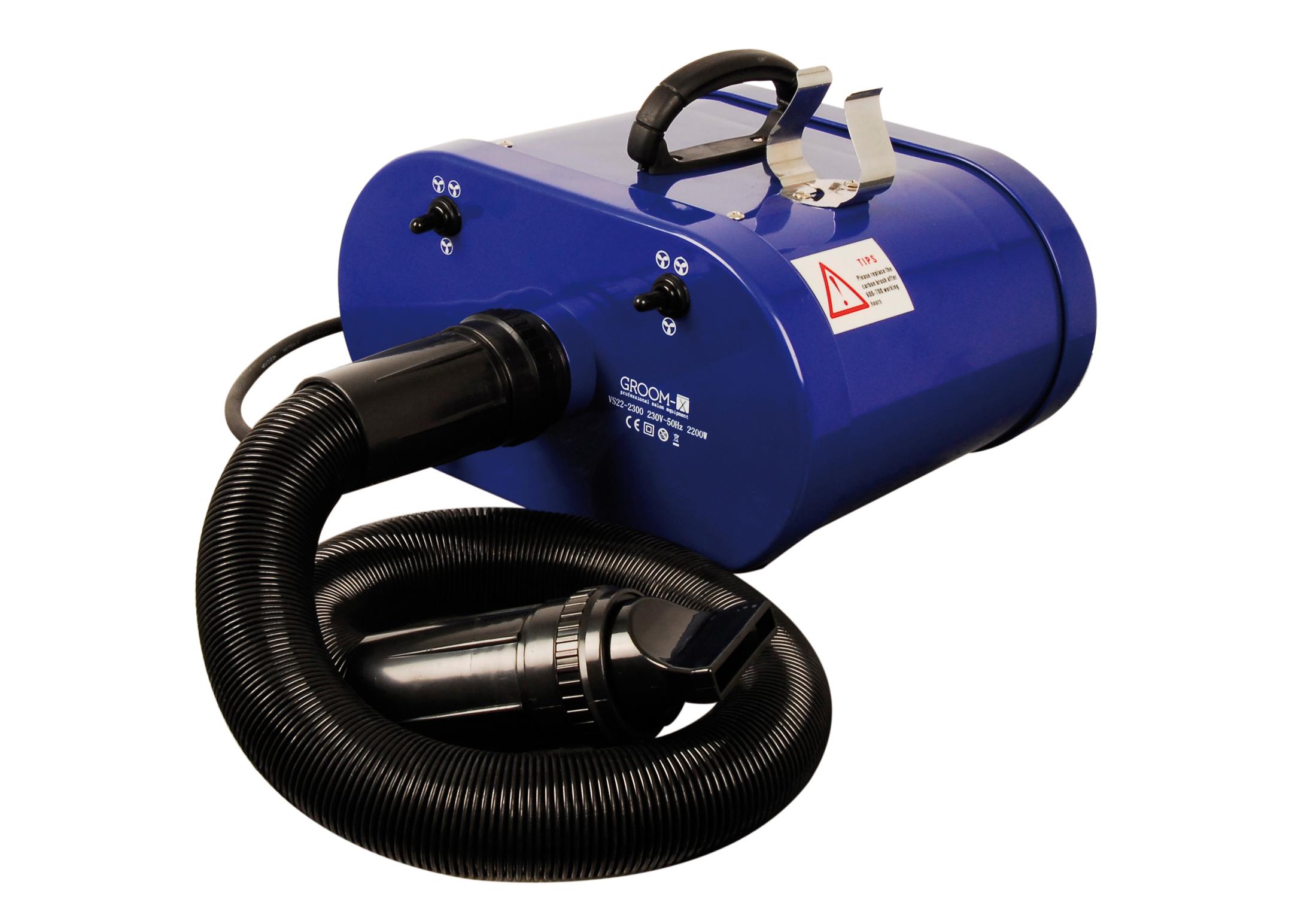 Groom-X Twister Blauw Haardroger