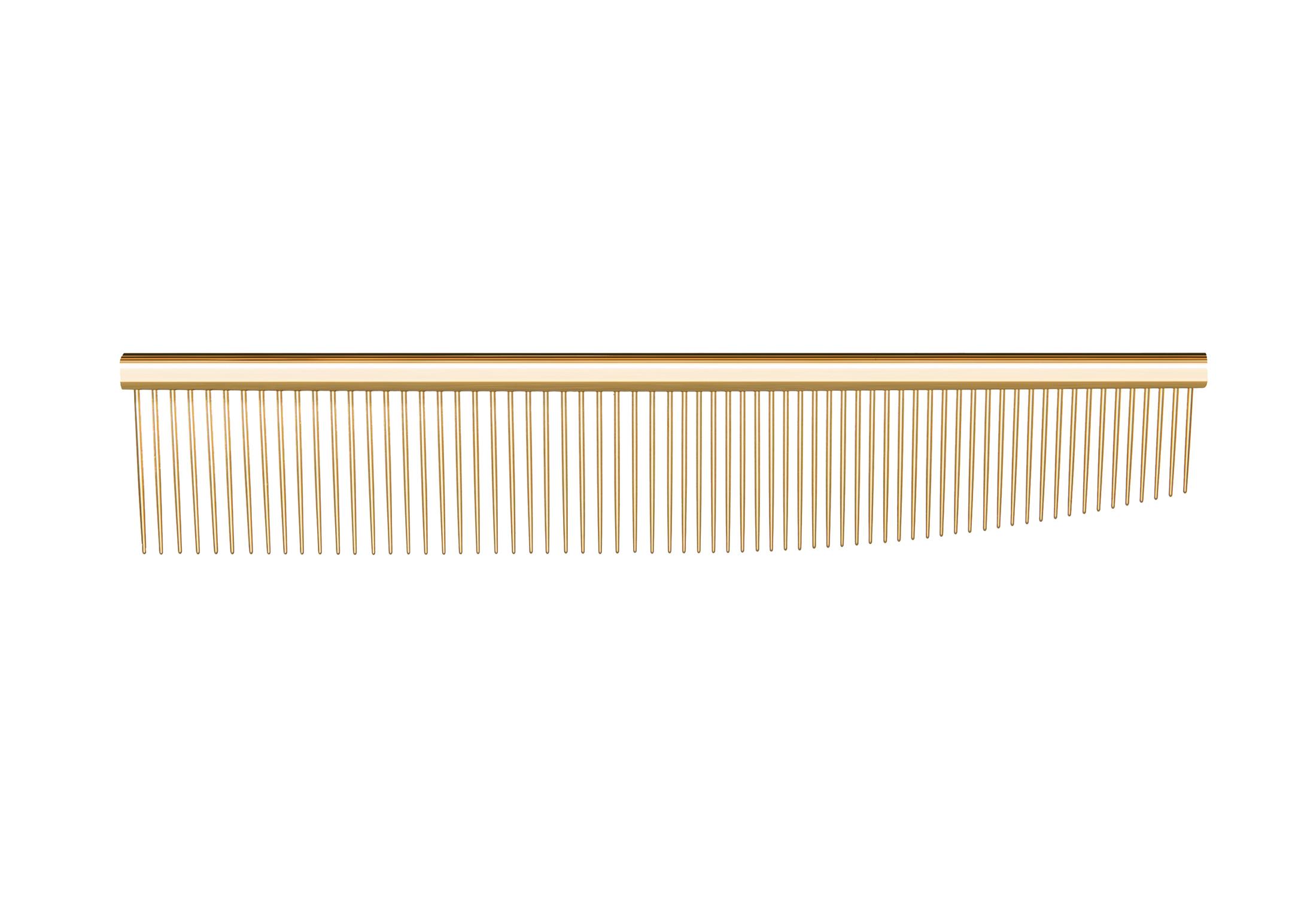 Utsumi U&U Combination Comb Gold Comb 16,5cm Comb