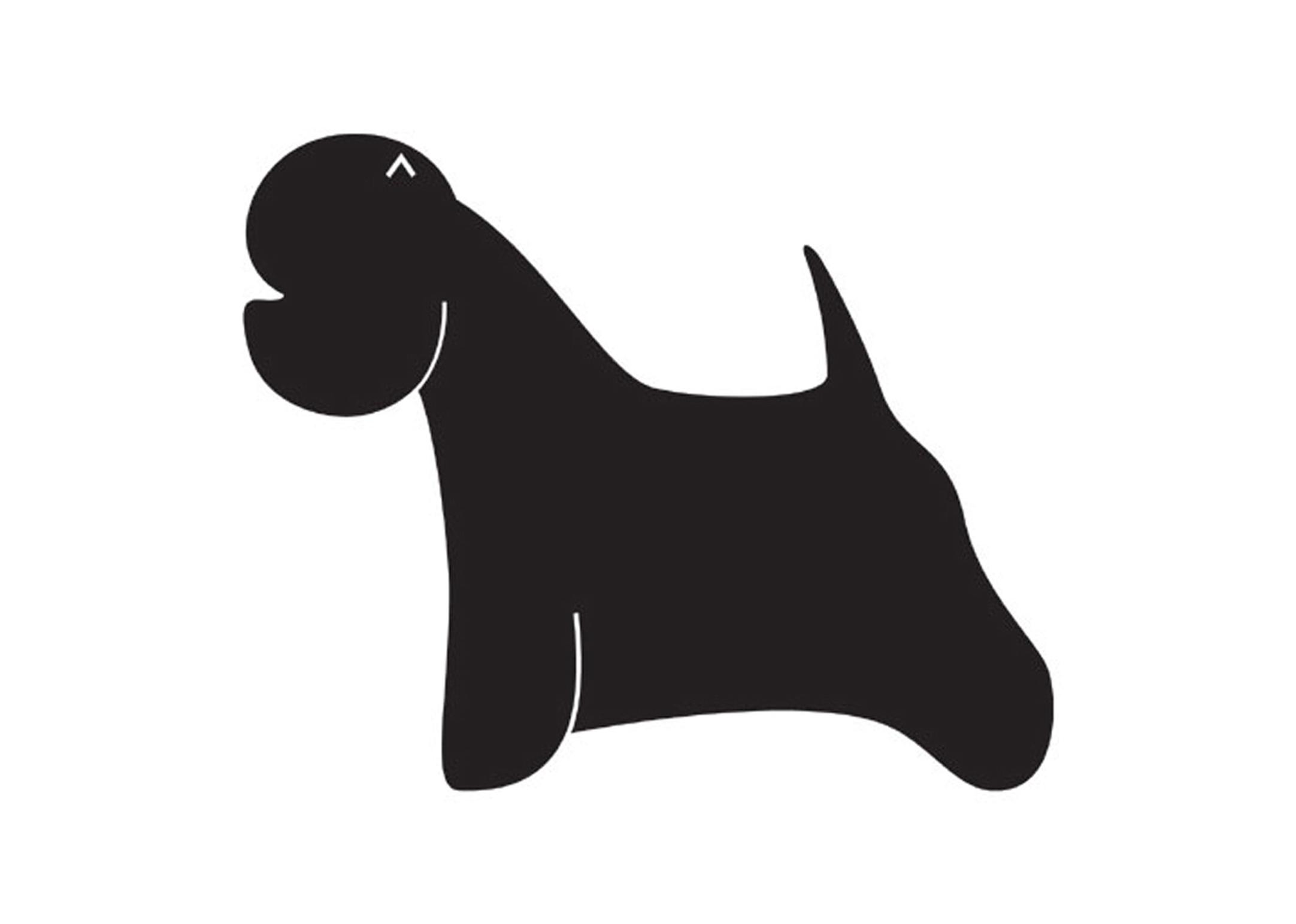 K-design West Highland Terrier Sticker For Groomers