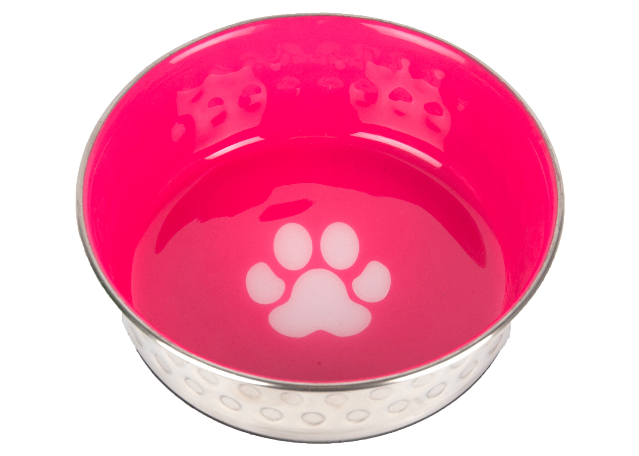 Show Tech Pet Bowl Antislip Hot Pink