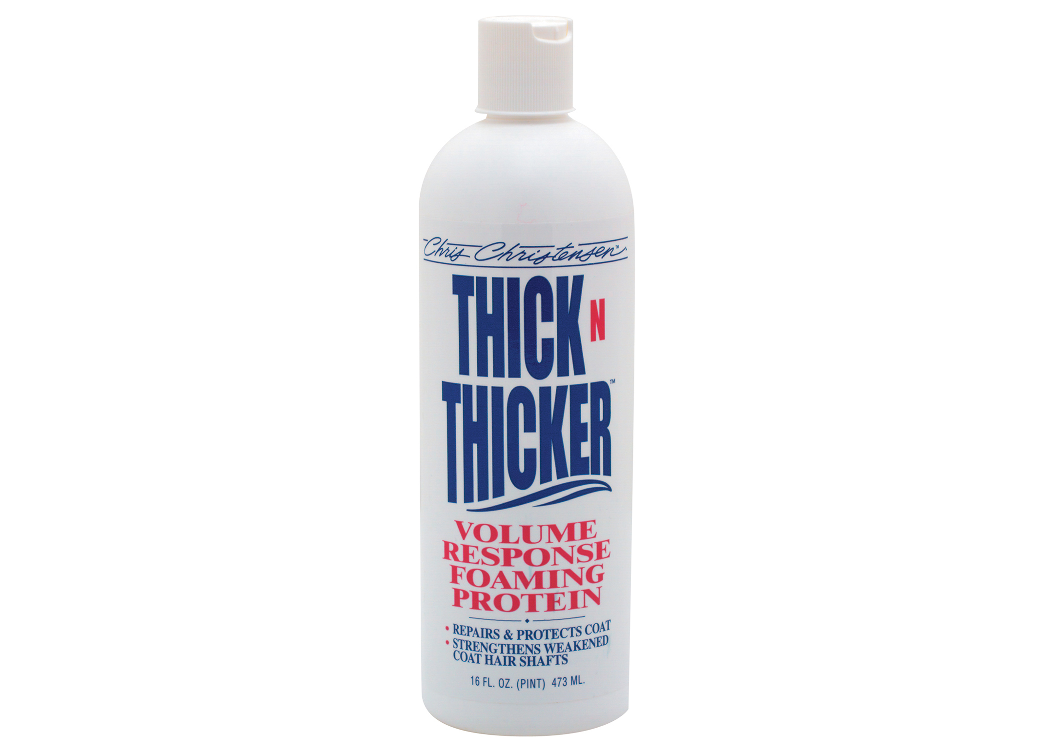Chris Christensen Systems Thick N Thicker Foam Mousse Pour Chiens, Chats et Chevaux