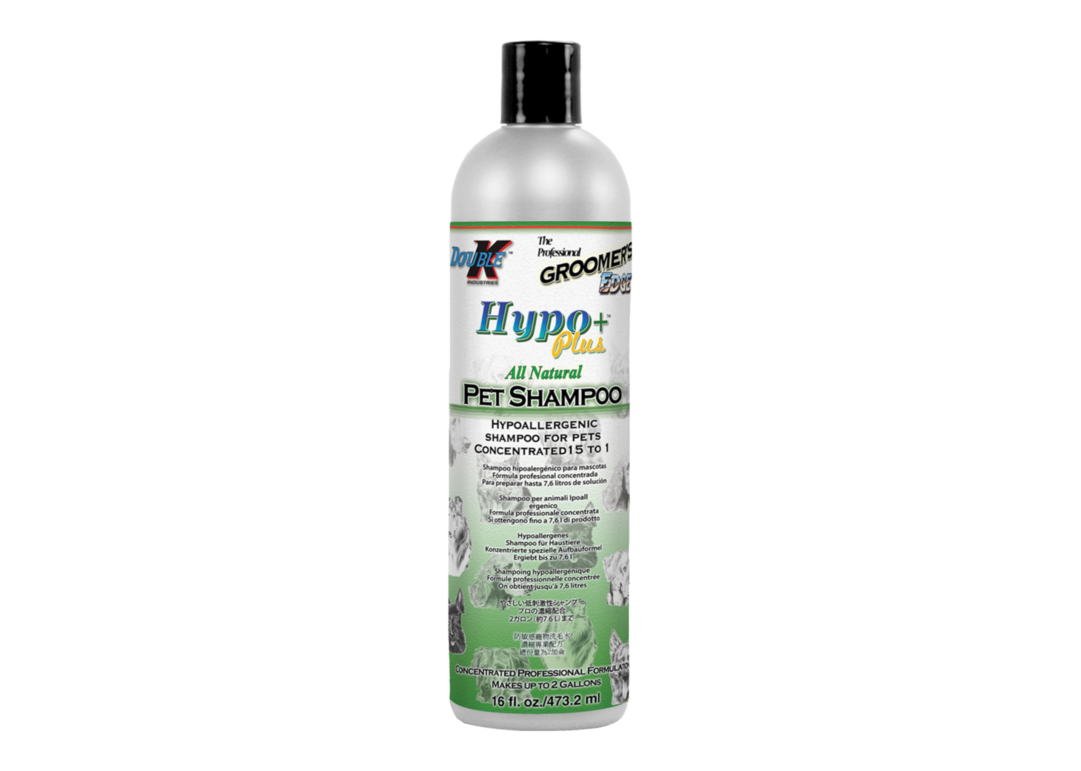 Double K Hypo+ PLUS Shampoo For Dogs, Cats And Horses