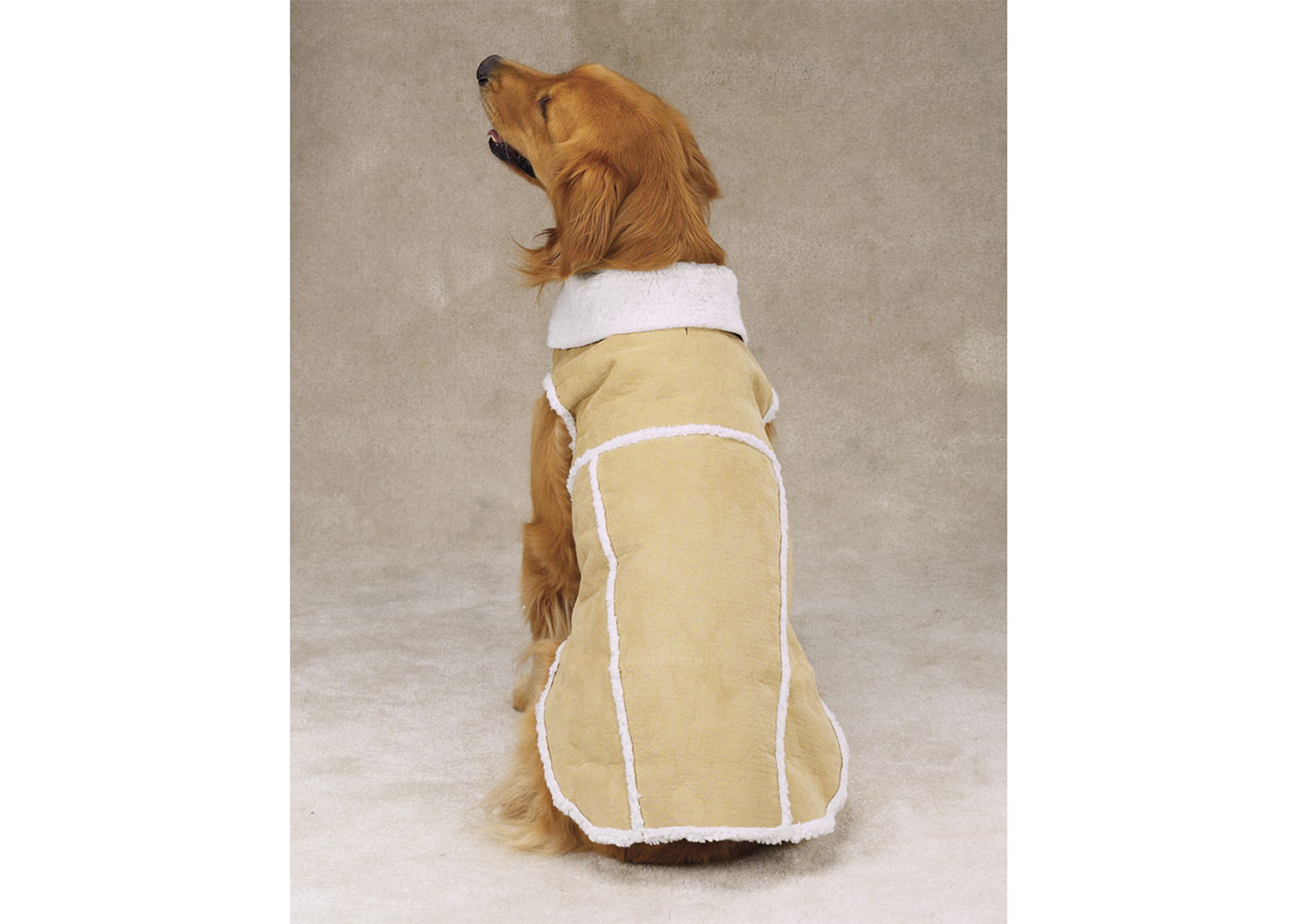 Zack & Zoe Aspen Coat Sand Attire For Dogs