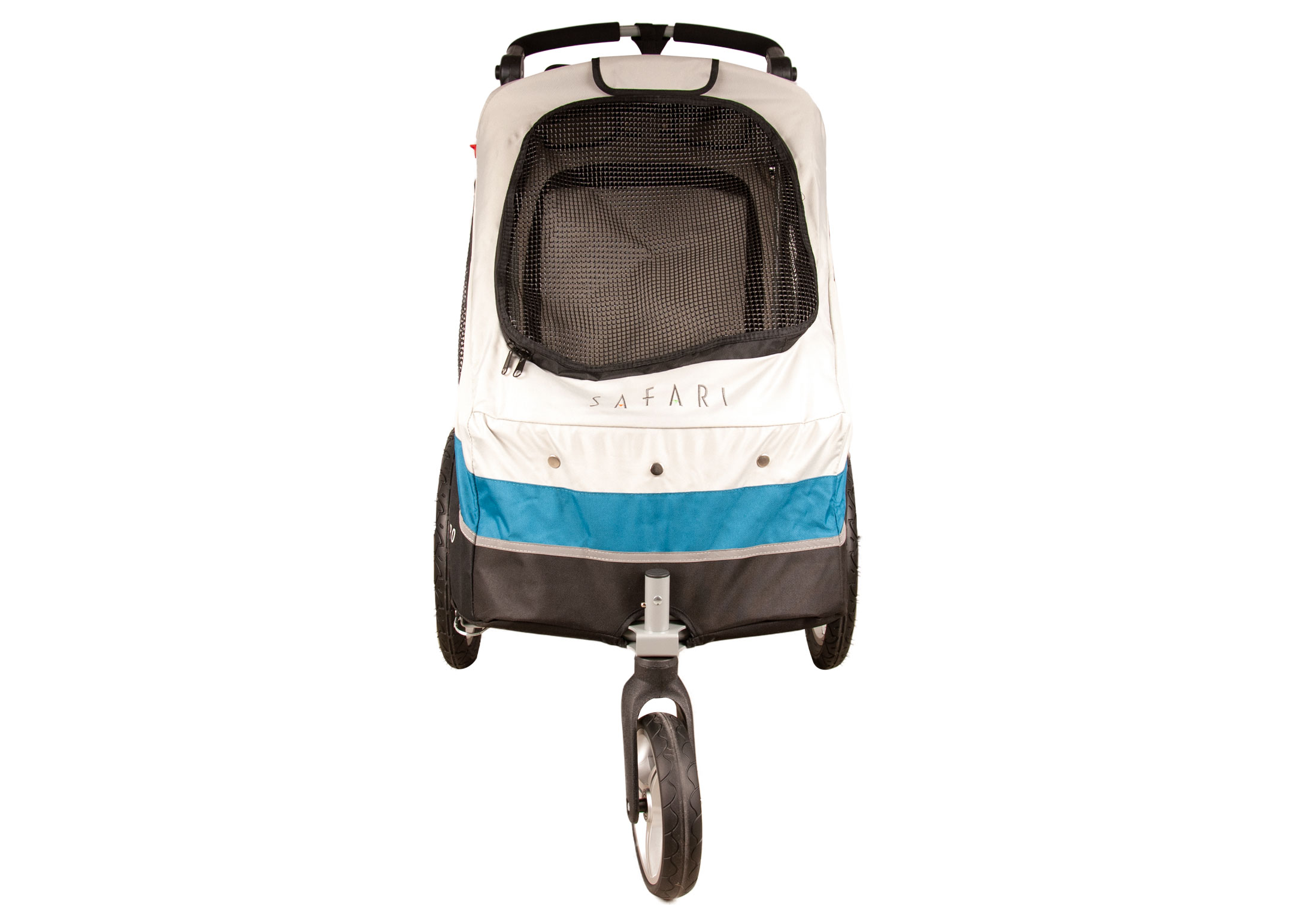 Petstro Medium Buggy, Turquoise/Grey