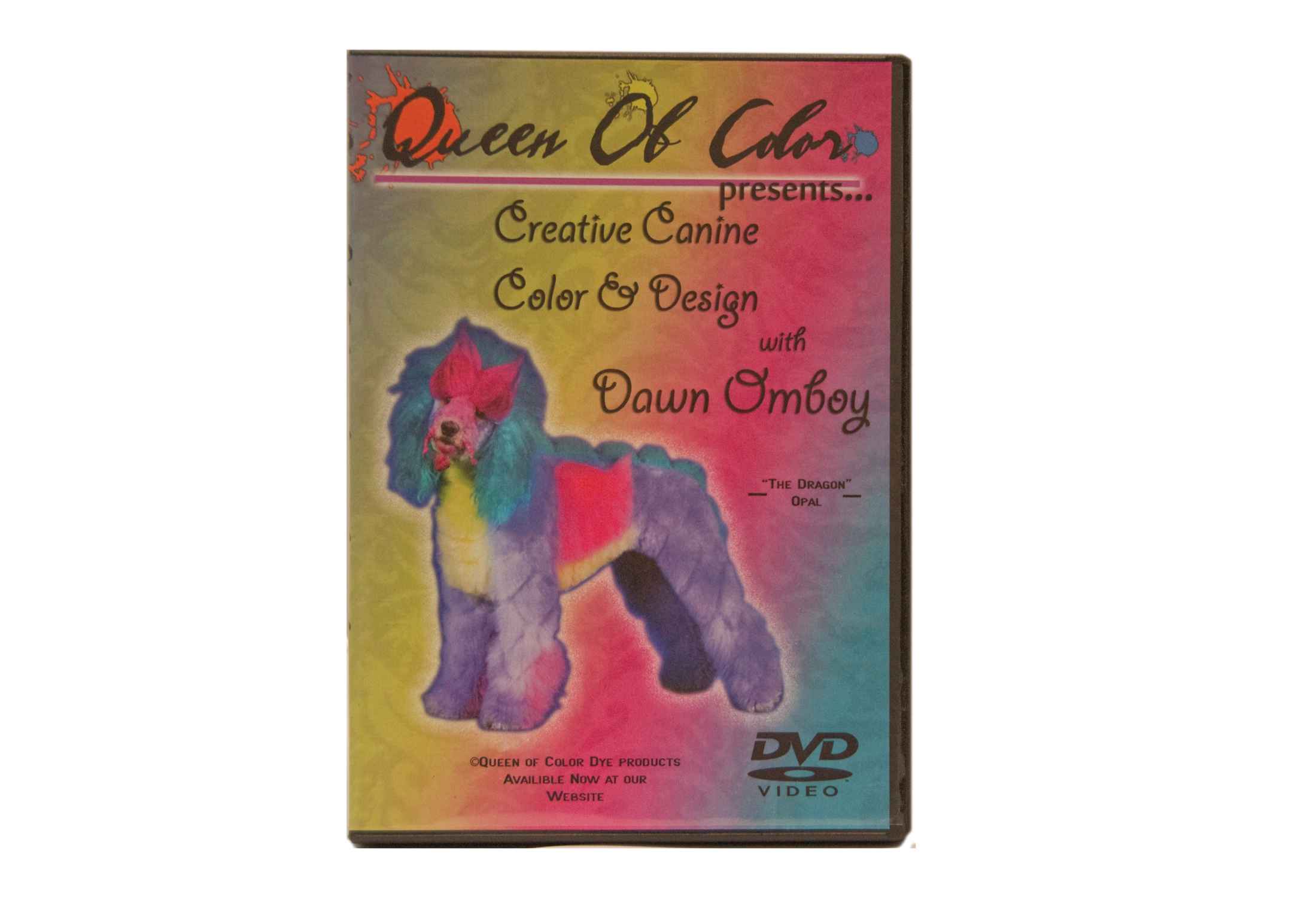 Dawn Omboy's Queen of Color DVD éducatif