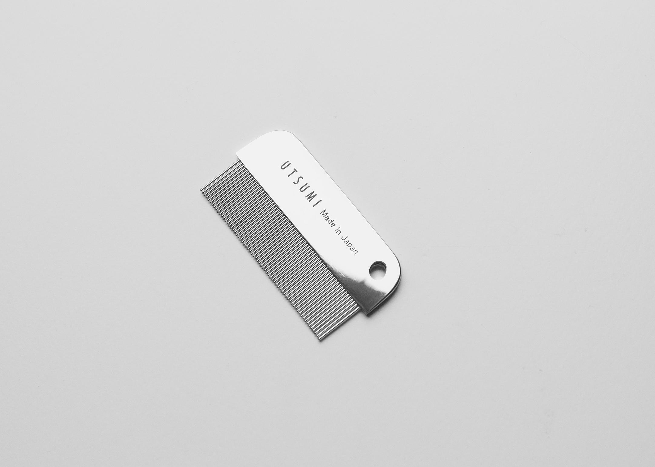 Utsumi Face Comb 6.7 cm