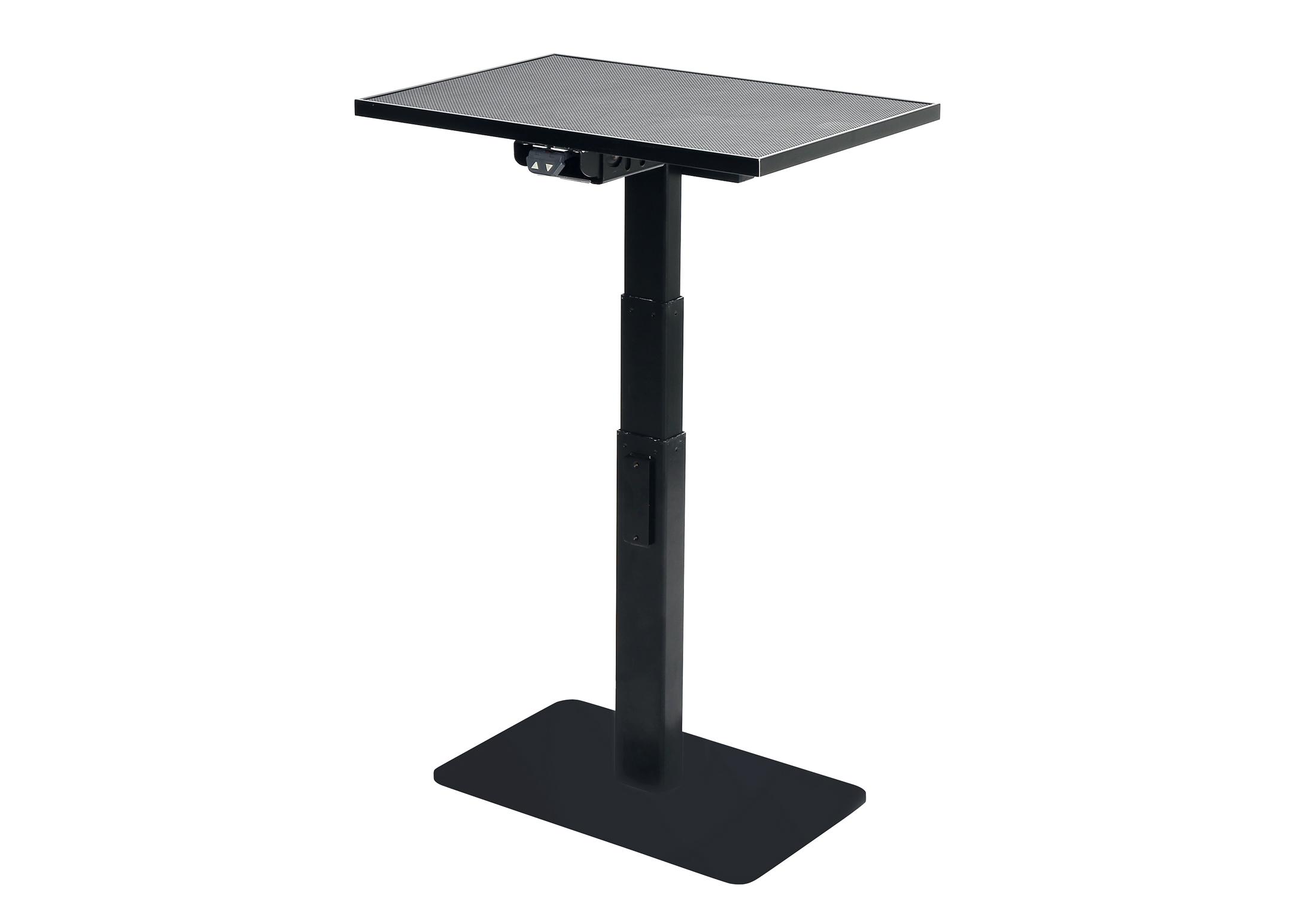 Groom-X Table Electrique Téléscopique Rectangulaire 60,5x40,5cm (62-127cmh) avec Potence