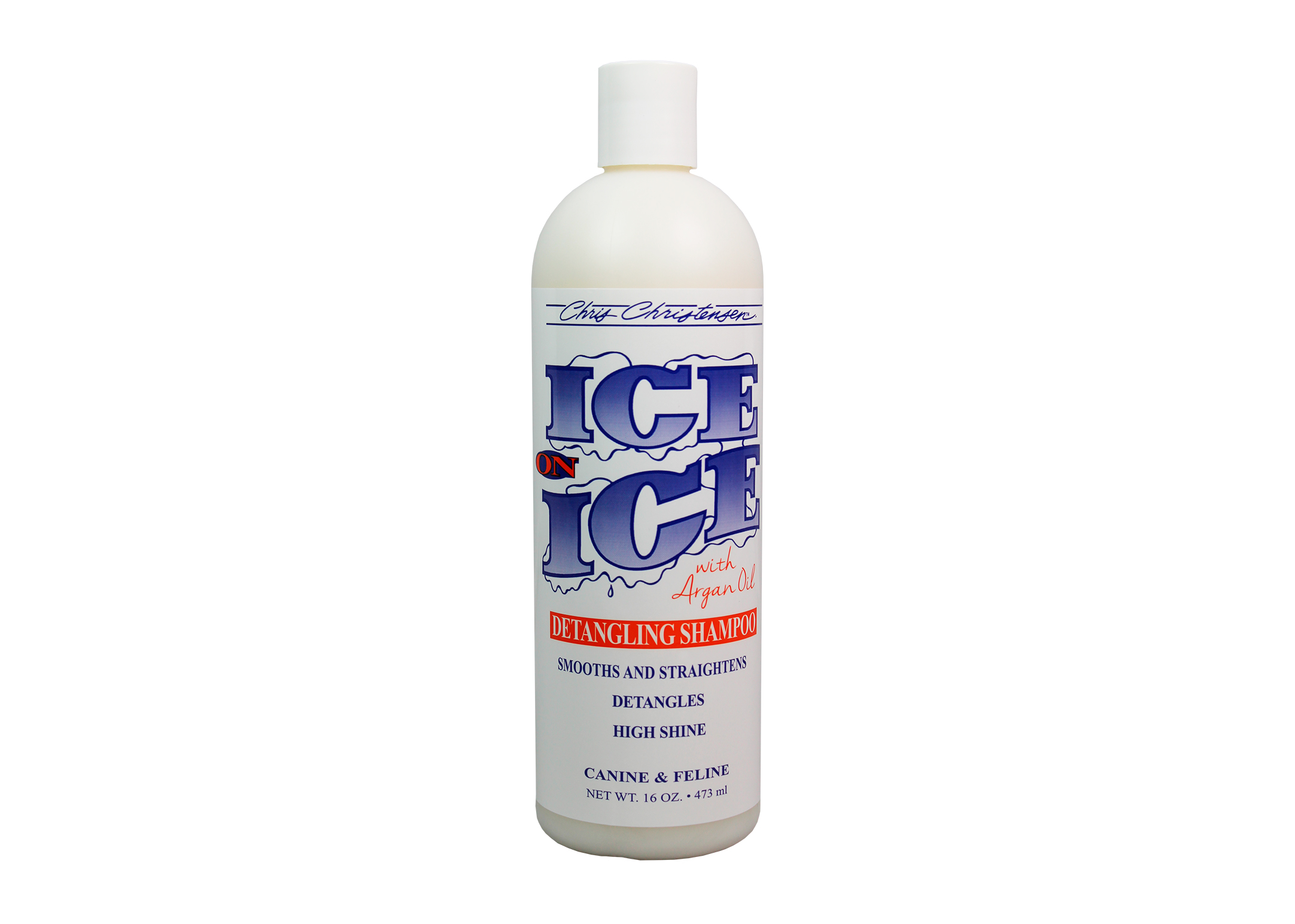 Chris Christensen Systems Ice on Ice Detangling Shampoo For Dogs, Cats And Horses