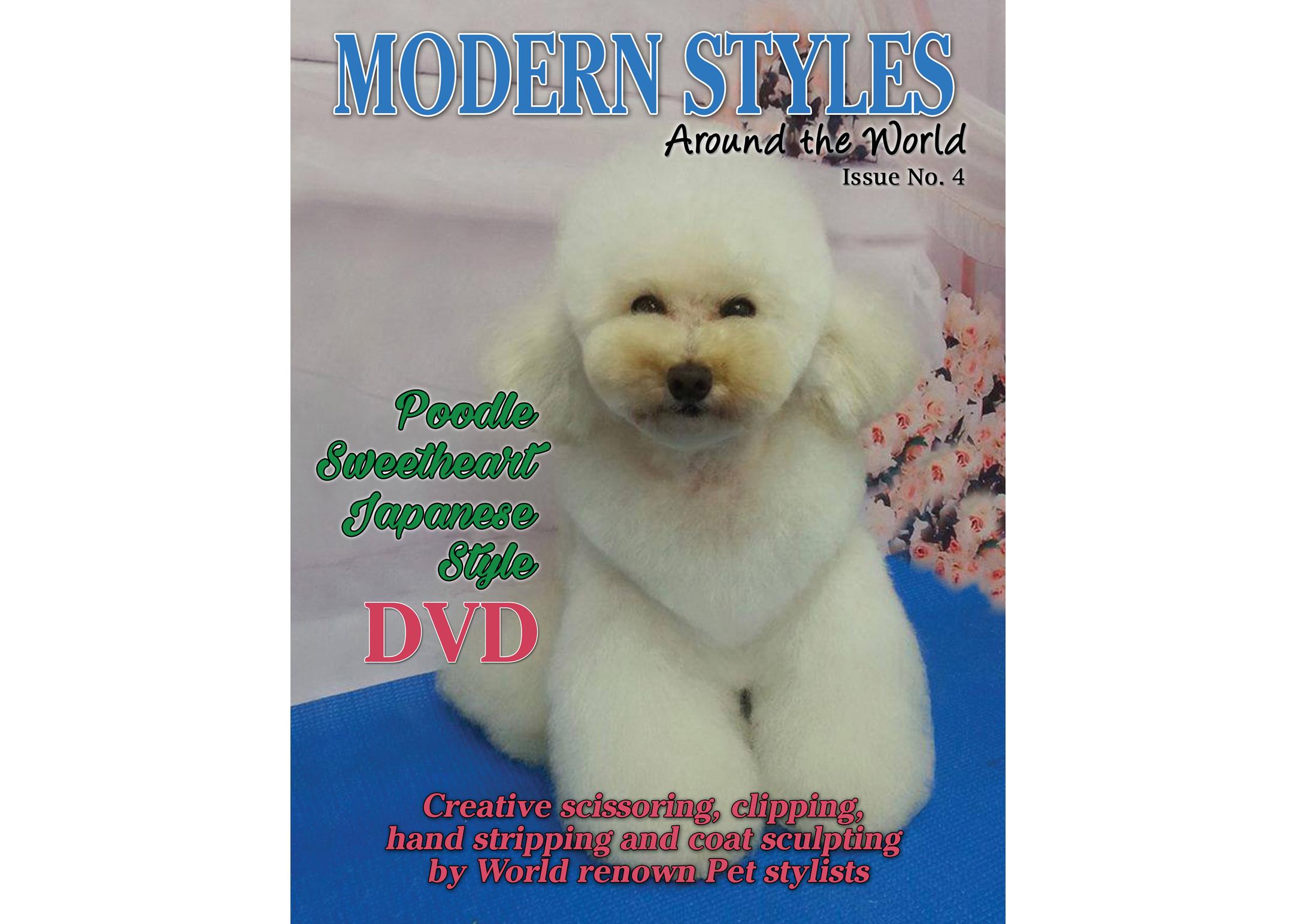 Magazine Creative scissoring, handstripping, clippering + DVD Magazine