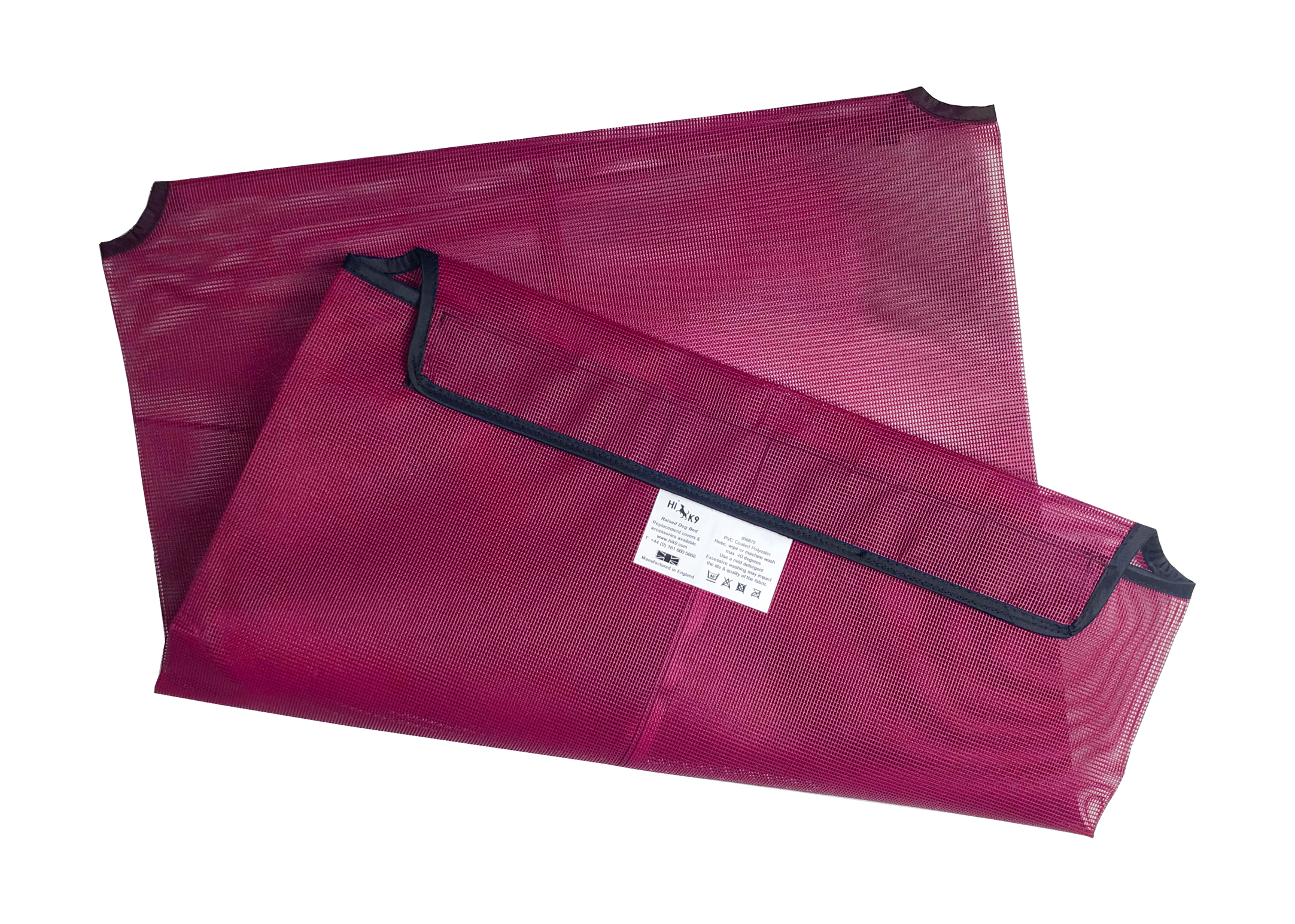 Hi-K9 Mesh Cover Pink Bed