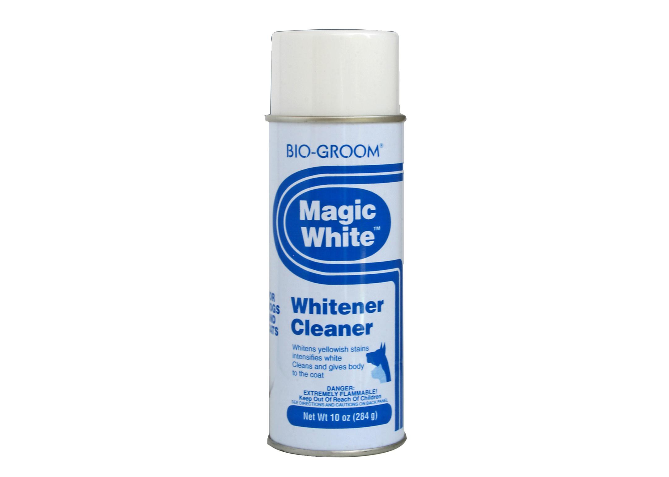 Bio Groom Magic White 284 gr Reiniger van Witte Vachten