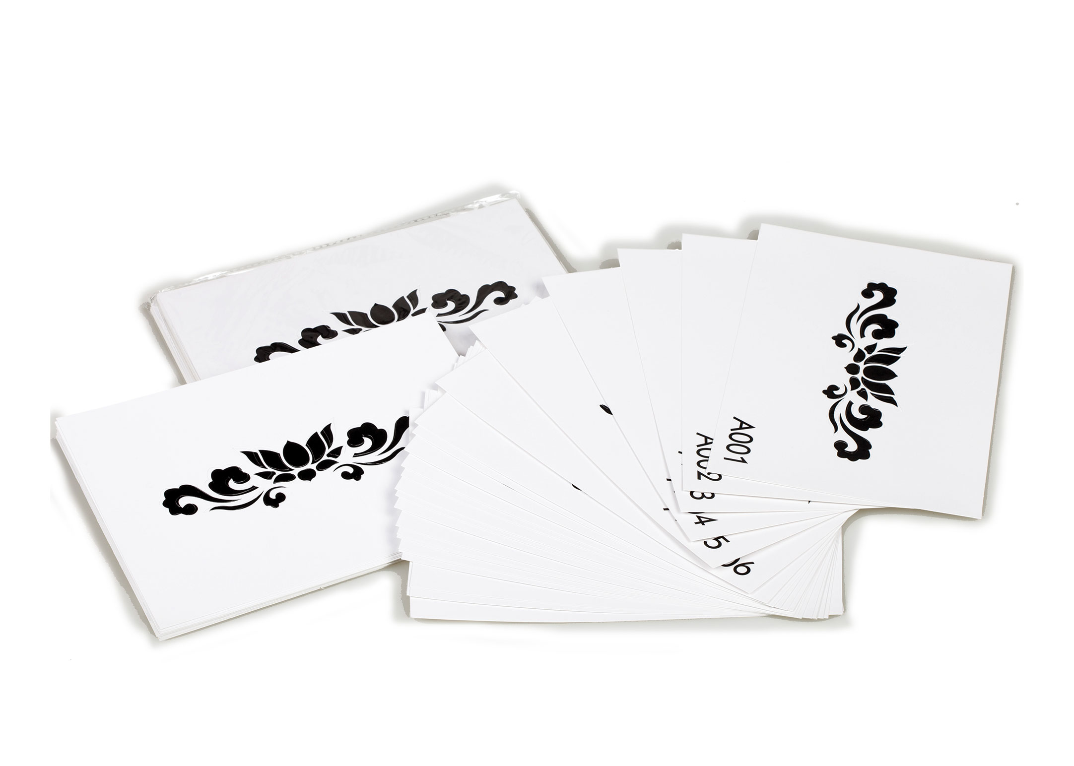 Opawz Tattoo Stencil Set 24 pcs