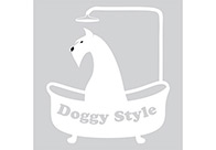 K-design Dog In Bath Sticker For Groomers