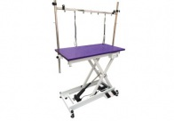 Groom-X LowLine Salon Table Purple Top 110x60x32-102cm with Control Frame Professional Grooming Table For Groomers