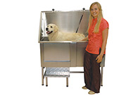 Groom-X Walk-In Tub Inox Bath For Dogs And Cats