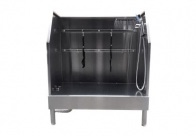 Groom-X Low-Line Walk-In Tub Inox Bath For Dogs And Cats