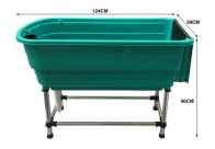 Show Tech Handy Tub L 124x59x90cm Bath For Dogs And Cats