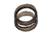 Kenchii Finger Rings Black 6 pcs Scissor rings