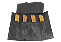Chris Christensen Systems Leather Pouch for Folding Knives For Groomers And Hairdressers