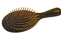Chris Christensen Systems Oval Wood Pin Brush Large - 20mm Pins