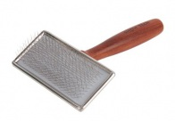 Show Tech Extra Life Slicker Rosewood Brush For Dogs