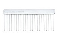 #1 All Systems Dematting Comb 15cm Comb For Dogs