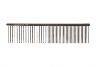 Chris Christensen Systems Buttercomb Fine/Coarse Long Tooth 19cm Comb For Dogs