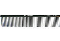 Show Tech Anti-Static Greyhond Bronze Comb 19cm Antistatic Comb For Dogs