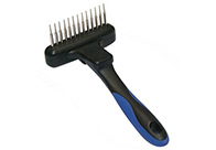 Show Tech Twist & Cling Rake Dematting Comb For Dogs